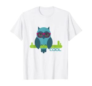 T-Shirt Eule bei Amazon